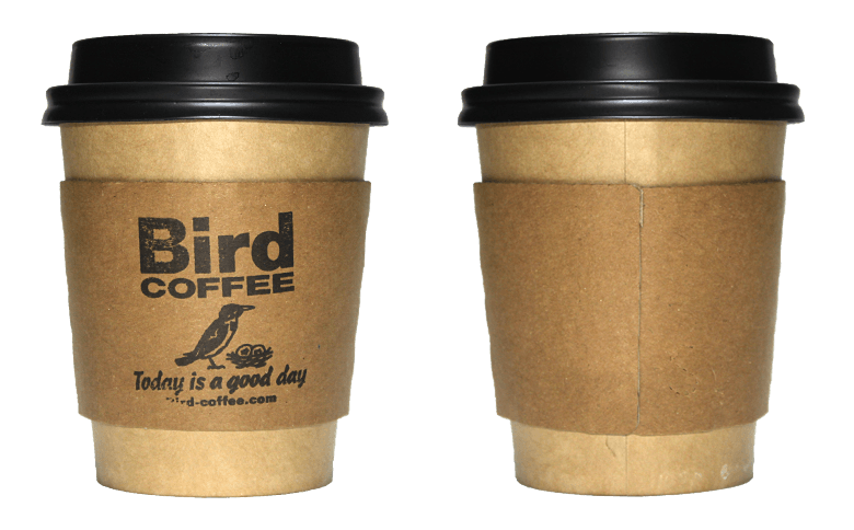Bird COFFEE ver.02(バードコーヒー)のテイクアウト用コーヒーカップ