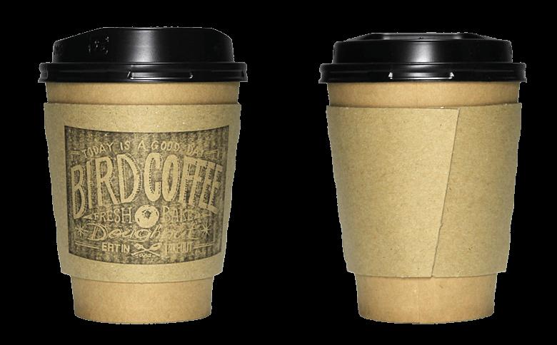 Bird COFFEE(バードコーヒー)のテイクアウト用コーヒーカップ