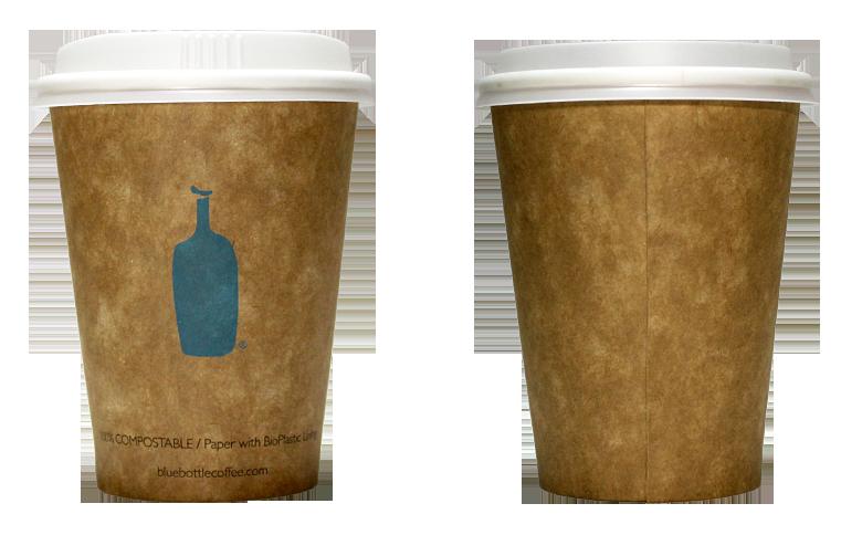 Blue Bottle Coffee(ブルーボトルコーヒー)のテイクアウト用コーヒーカップ
