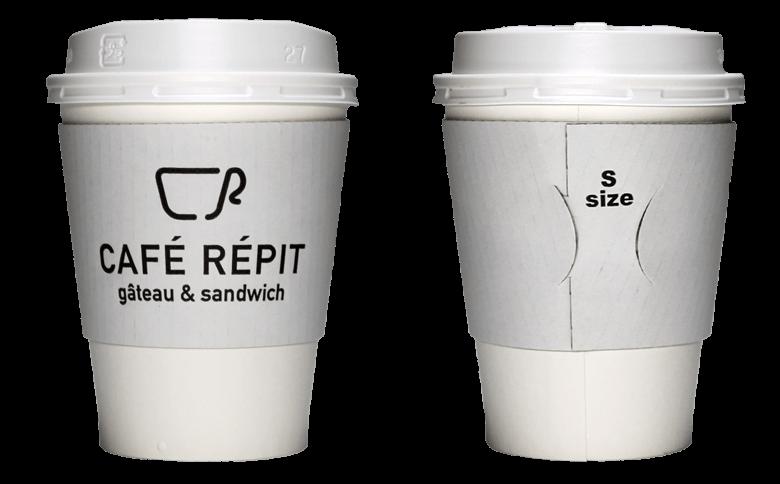 Cafe Repit(カフェレピ)のテイクアウト用コーヒーカップ