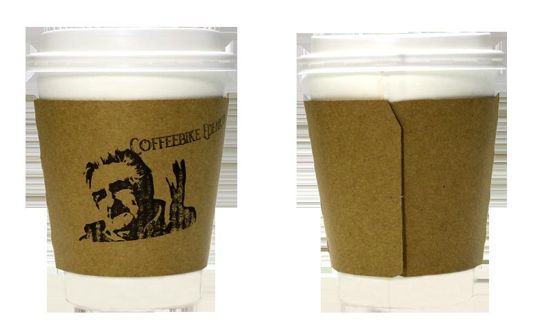 COFFEEBIKE EDENICO(コーヒーバイク エデニコ)のテイクアウト用コーヒーカップ
