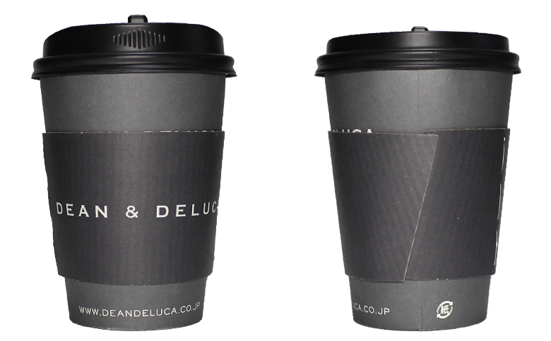 DEAN&DELUCA(ディーンアンドデルーカ)のテイクアウト用コーヒーカップ