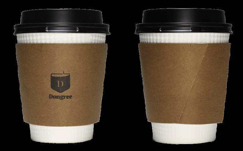 Dongree(ドングリー コーヒースタンドと暮らしの道具店)のテイクアウト用コーヒーカップ