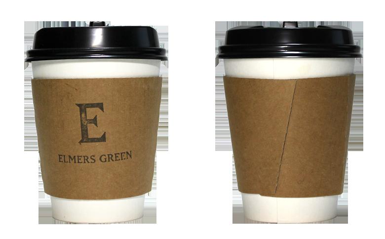 ELMERS GREEN IN THE PARK( エルマーズグリーン イン ザ パーク)のテイクアウト用コーヒーカップ