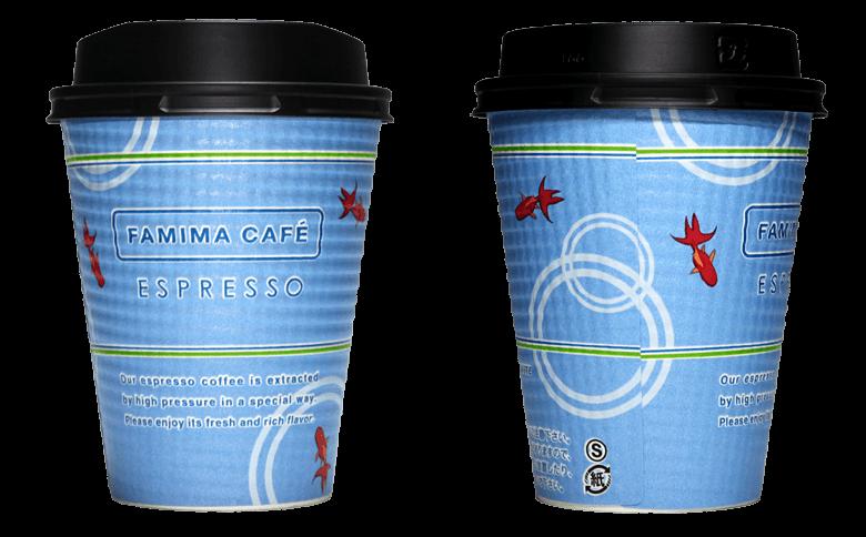 FamilyMart  FAMIMA CAFE 2017年夏(ファミリーマート ファミマカフェ)のテイクアウト用コーヒーカップ