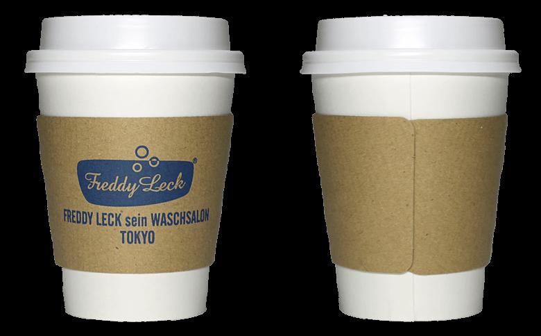 FREDDY LECK sein WASCHSALON TOKYO(フレディ レック・ウォッシュサロン トーキョー)のテイクアウト用コーヒーカップ