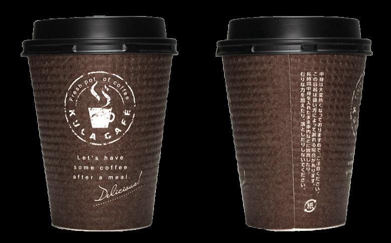 くら寿司(KULA CAFE)のテイクアウト用コーヒーカップ