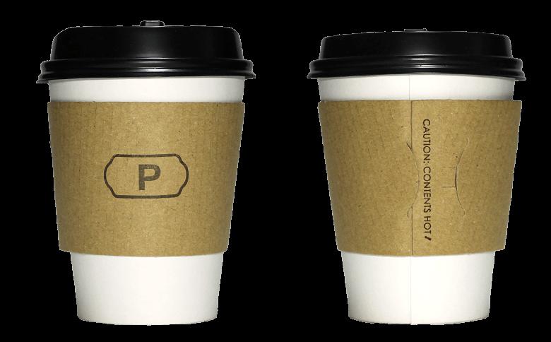 LE PRIEURE(ル・プリュー)のテイクアウト用コーヒーカップ