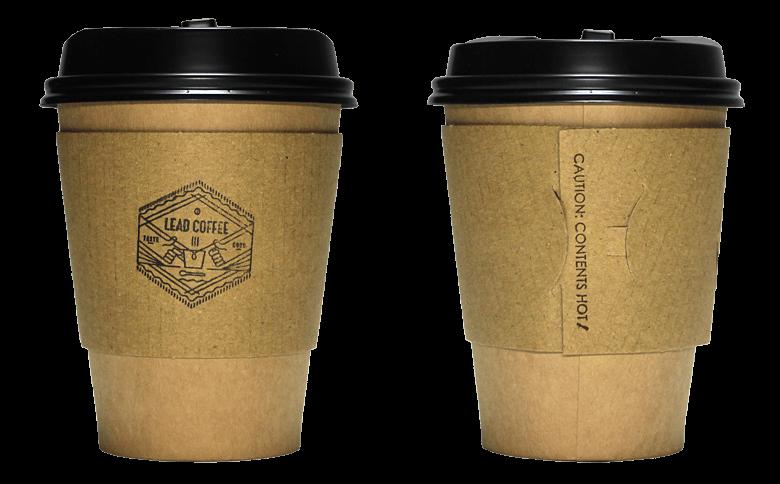 LEAD COFFEE(リードコーヒー)のテイクアウト用コーヒーカップ