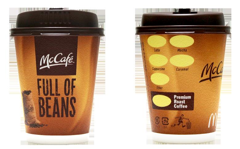 McDonald's(マクドナルド)のテイクアウト用コーヒーカップ