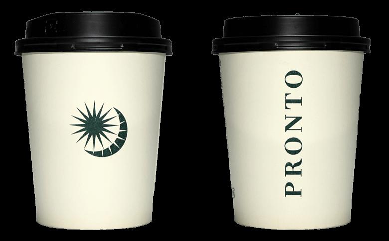 PRONTO 2016年クリスマスシーズン限定(プロント)のテイクアウト用コーヒーカップ