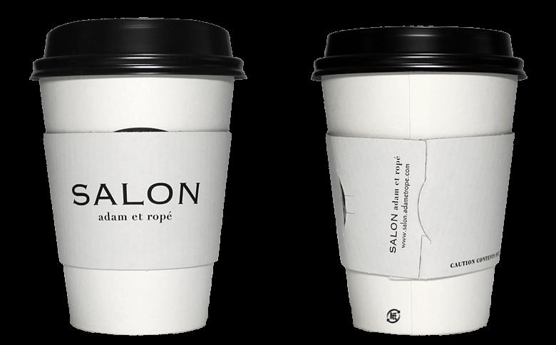 SALON adam et ropé(サロン アダム エ ロペ)のテイクアウト用コーヒーカップ