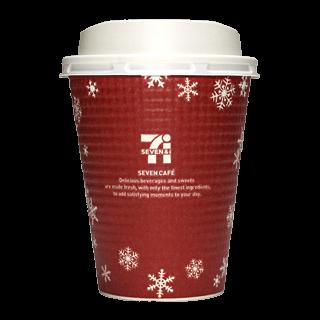 セブンイレブン セブンカフェ 2015年クリスマス限定(レッド)