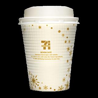 セブンイレブン セブンカフェ 2016年クリスマス限定(ゴールド)