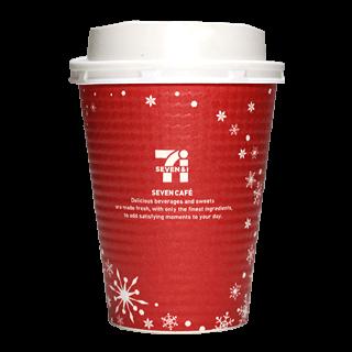 セブンイレブン セブンカフェ 2016年クリスマス限定(レッド)