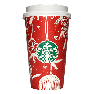 Starbucks Coffee 2016年ホリデーシーズン限定レッドカップ Ornaments「オーナメント」(United Arab Emirates)