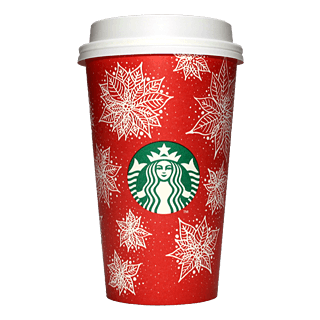 Starbucks Coffee 2016年ホリデーシーズン限定レッドカップ Poinsettia「ポインセチア」(United States)