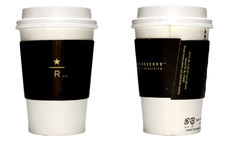 STARBUCKS RESERVE(スターバックス リザーブ)のテイクアウト用コーヒーカップ