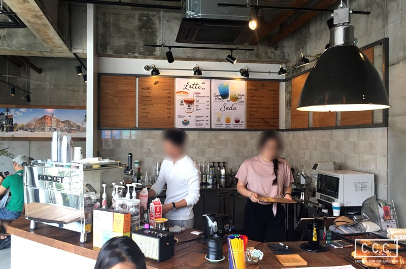 9 Borden Coffeeの店内