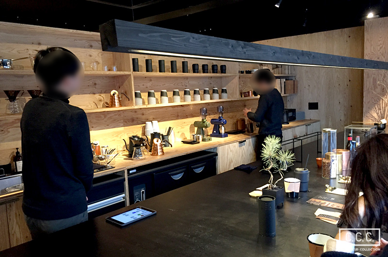 artless-craft-tea-coffeeの店内