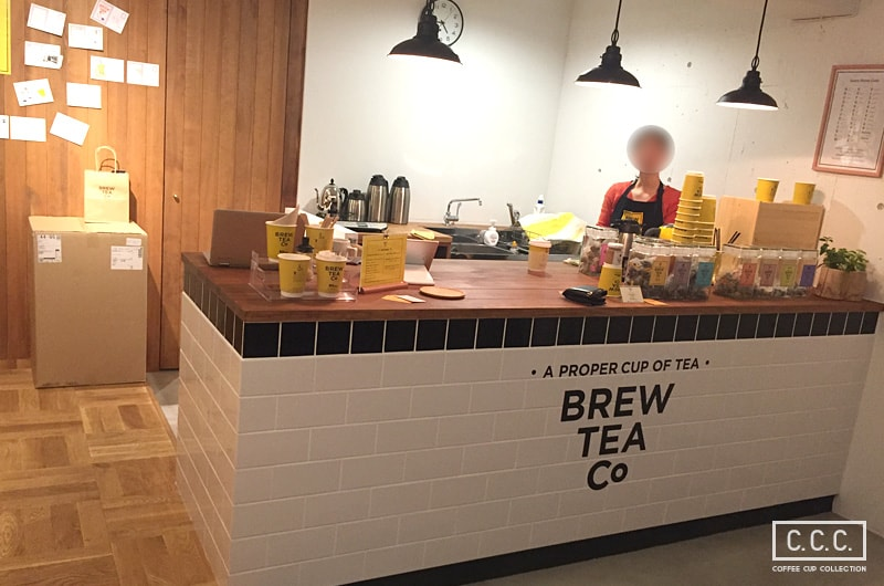 Brew Tea Co.の店内