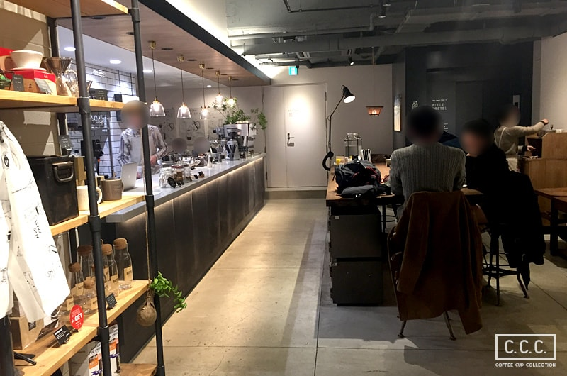 DRIP&DROP COFFEE SUPPLYの店内