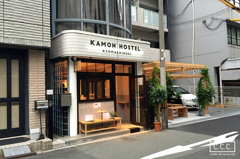 KAMON COFFEEの外観
