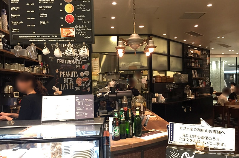 THE CITY BAKERYの店内