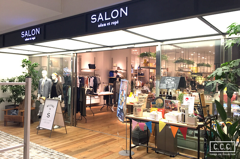SALON adam et ropéの店内