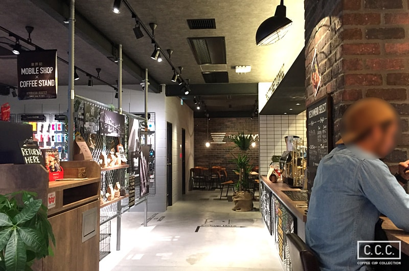 THE CITY'S BEST COFFEEの店内