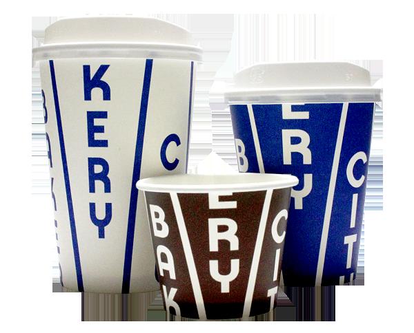 THE CITY BAKERY(ザ シティ ベーカリー)のテイクアウト用コーヒーカップ