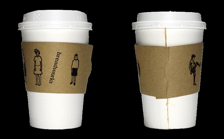 breadworks(ブレッドワークス)のテイクアウト用コーヒーカップ