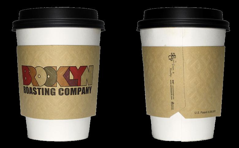 BROOKLYN ROASTING COMPANY(ブルックリン ロースティング カンパニー)のテイクアウト用コーヒーカップ