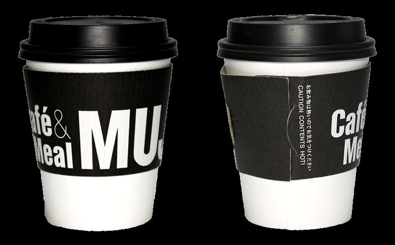Cafe&Meal MUJI(カフェ&ミール ムジ)のテイクアウト用コーヒーカップ