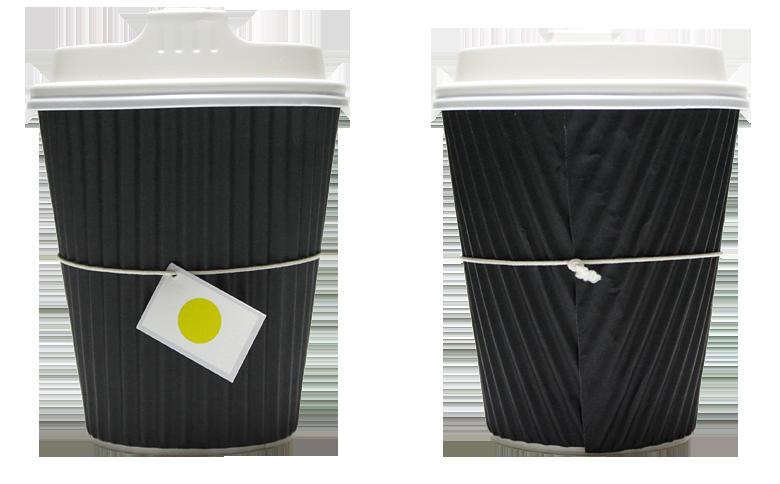 CHASHITSU for worker(チャシツ フォー ワーカー)のテイクアウト用コーヒーカップ