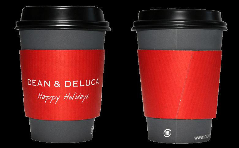 DEAN&DELUCA ホリデーシーズン限定(ディーンアンドデルーカ)のテイクアウト用コーヒーカップ