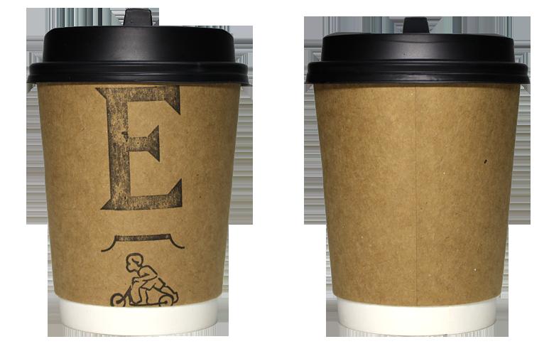 ELMERS GREEN CAFE ver02(エルマーズグリーン カフェ)のテイクアウト用コーヒーカップ