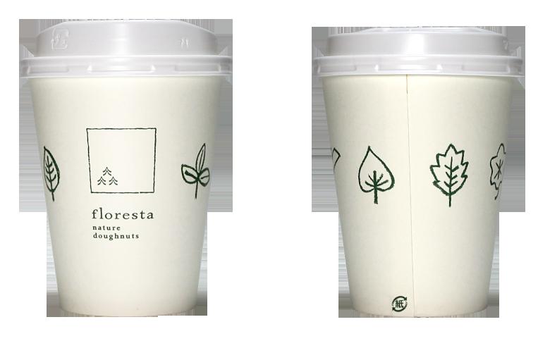 floresta(フロレスタ)のテイクアウト用コーヒーカップ