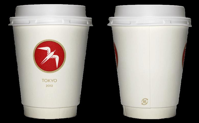 FUGLEN TOKYO(フグレントウキョウ)のテイクアウト用コーヒーカップ