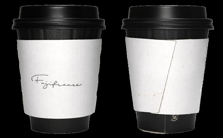 Fujifrance(フジフランス)のテイクアウト用コーヒーカップ