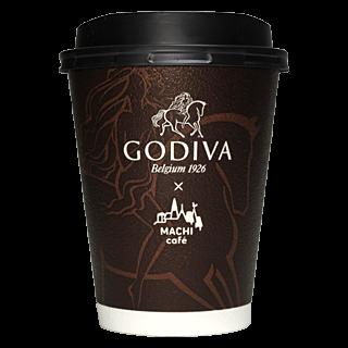 LAWSON MACHI café GODIVA ホットチョコレート