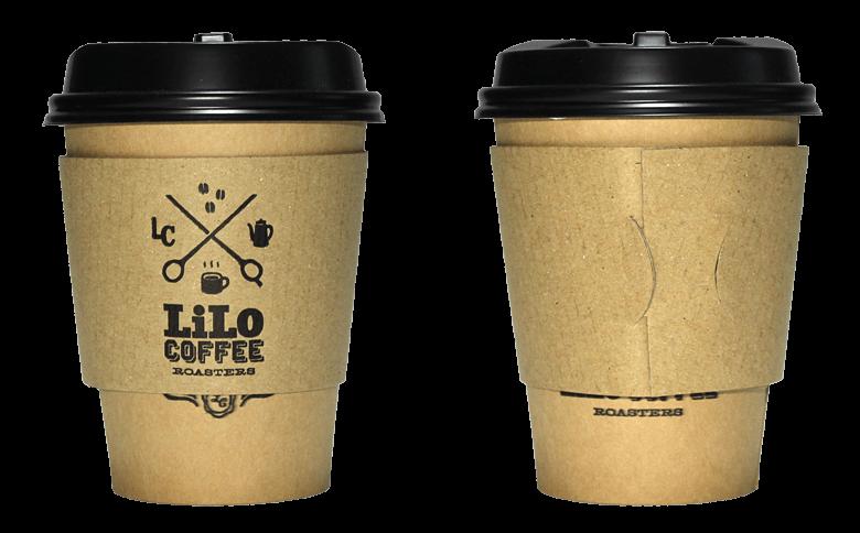 LiLo Coffee Roasters(リロ コーヒー ロースターズ)のテイクアウト用コーヒーカップ