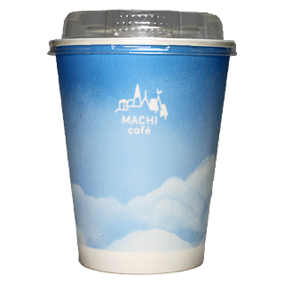 LAWSON MACHI café アイスコーヒー用カップ(ローソン マチカフェ)