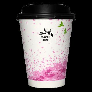 LAWSON MACHI café 2018年春限定(ホワイト)(ローソン マチカフェ)