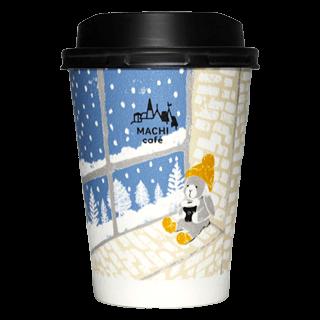 LAWSON MACHI café 2017年冬限定(ブルー)