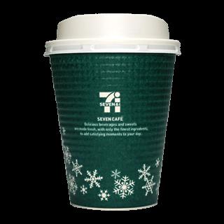 セブンイレブン セブンカフェ 2015年クリスマス限定(グリーン)