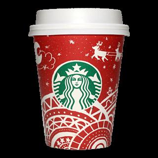 Starbucks Coffee 2016年ホリデーシーズン限定レッドカップ Sleigh Ride「ソリ」(South Korea)