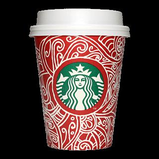 Starbucks Coffee 2016年ホリデーシーズン限定レッドカップ Graphic Swirls「渦」(Canada)