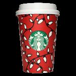Starbucks Coffee 2016年ホリデーシーズン限定レッドカップ Holiday Lights「ライト」(United States)