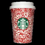 Starbucks Coffee 2016年ホリデーシーズン限定レッドカップ Candy Canes「キャンディケーン」(United States)